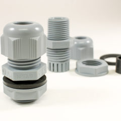 Alpha Wire Adds Cable Glands to its FIT Wire Management Product Family