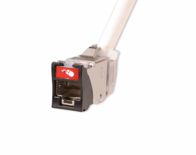Siemon launches new Z-MAX 45 Category 6A shielded outlet featuring 45-degree angle termination