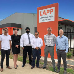Lapp down under: Full range of products now in Australia