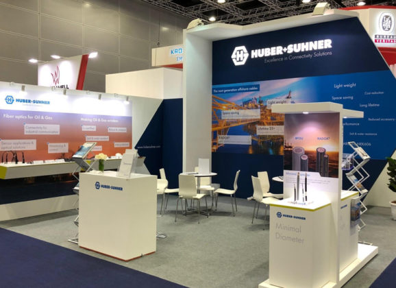 HUBER+SUHNER to showcase technology leading RADOX MFH cabling solution at Offshore Technology Conference 2018