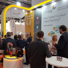 Cimteq printing 3D, designed on CableBuilder at Wire Dusseldorf