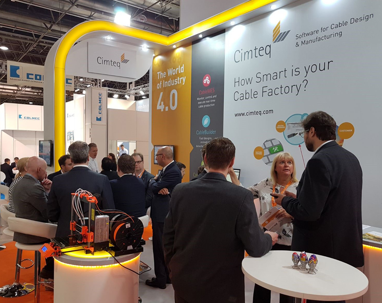 Cimteq's 3D Printer Showcase at Wire Dusseldorf