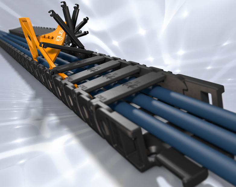 New chainflex CFSOFT cables for fast movements in small spaces