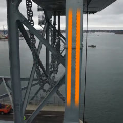 igus energy chains and cables breathe life into replacement lift bridge