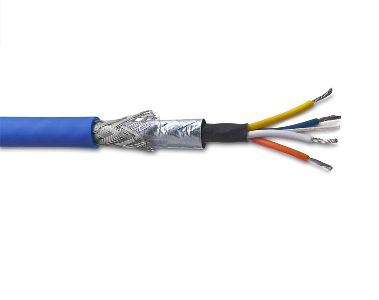 TE Connectivity launches cross linked ruggedized Cat5e rail data cable