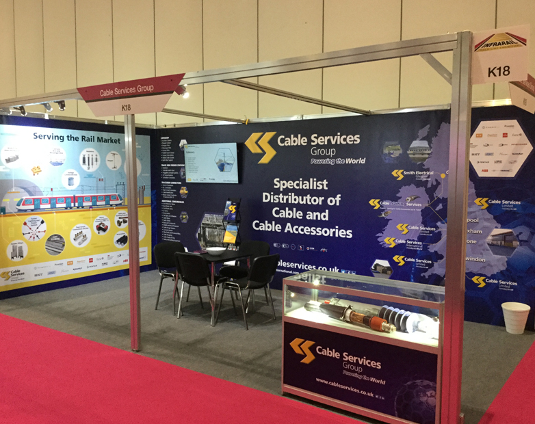 Providing solutions to the Rail Industry at Infrarail 2018