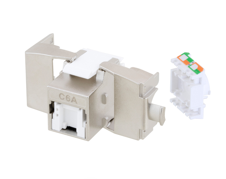 L-com Introduces New Tool-less RJ45 Jacks with PoE+ Compliance