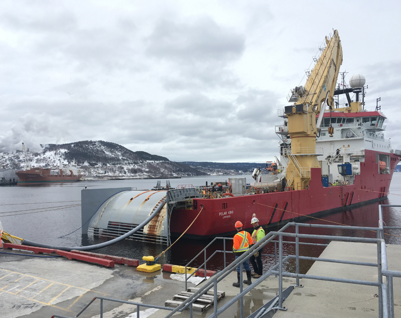 Nexans Makes Final Cable Delivery to Canada's Strait of Belle Isle Subsea HVDC Power Link