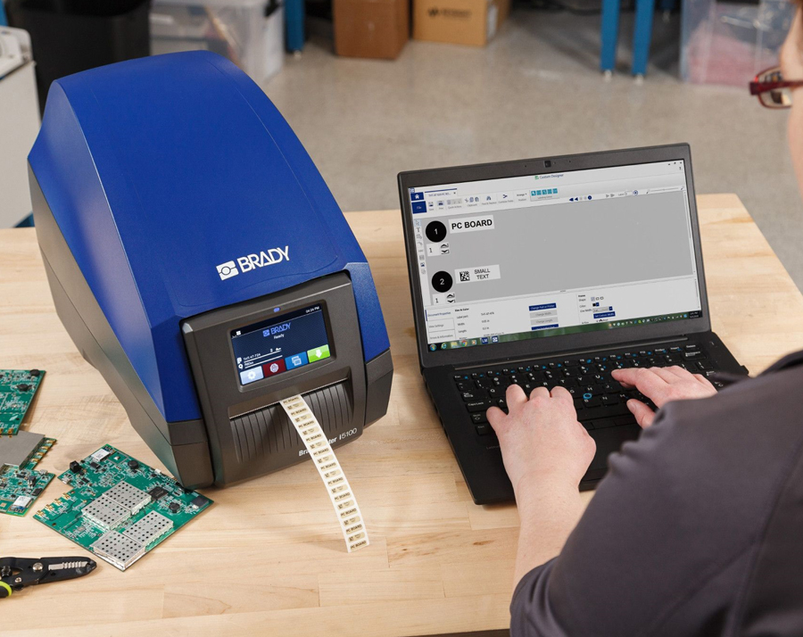 New, smart label printer with excellent performance