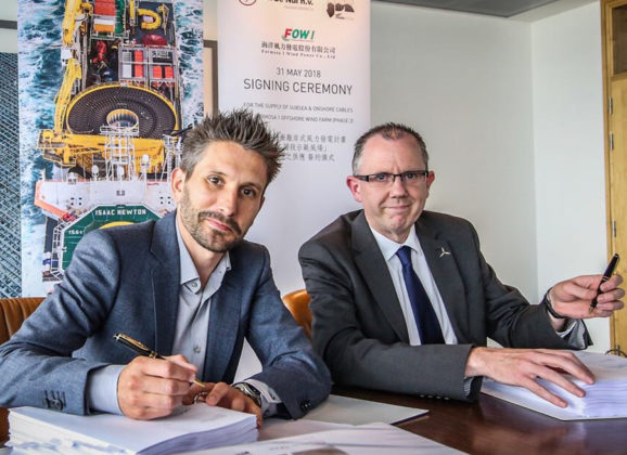JDR to supply inter-array, export and land cables to Taiwan's first offshore wind project