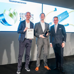 Innovative e-mobility charging system from LAPP wins gold