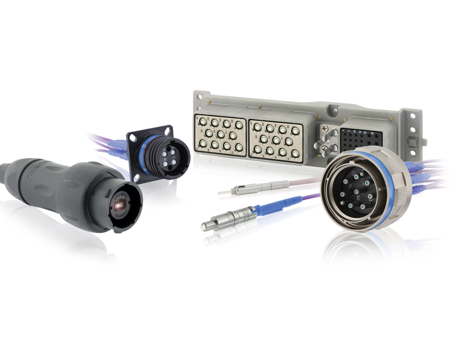 SOURIAU has a broad range of fiber optics solutions