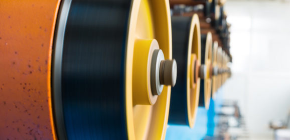 Why is Atlanta such a hub for cable manufacturing?