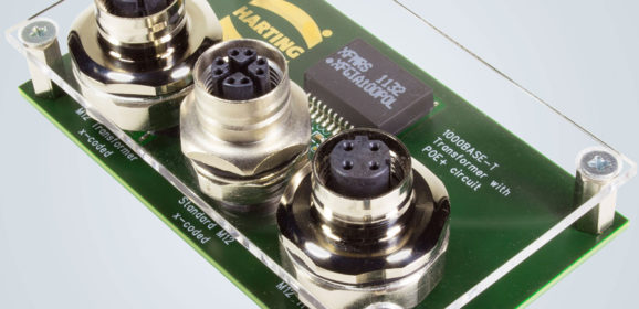 HARTING launches M12 Magnetics: a robust transformer in a connector