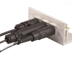 HUBER+SUHNER adds FullAXS Mini assemblies to its outdoor connectivity portfolio