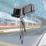 HUBER+SUHNER streamline passenger experience with launch of 5 Port railway roof top antenna