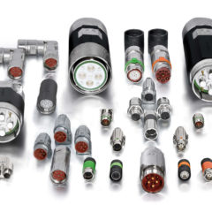 TE Connectivity demonstrated versatility of Intercontec connectors at SPS IPC Drives 2018