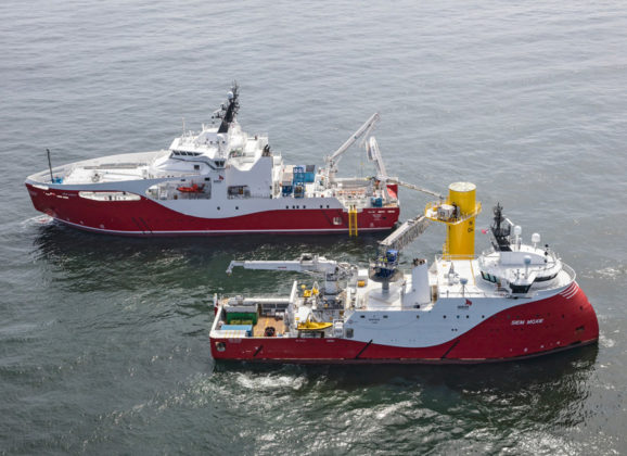 Milestone Coastal Wind Project for Seaway Offshore Cables