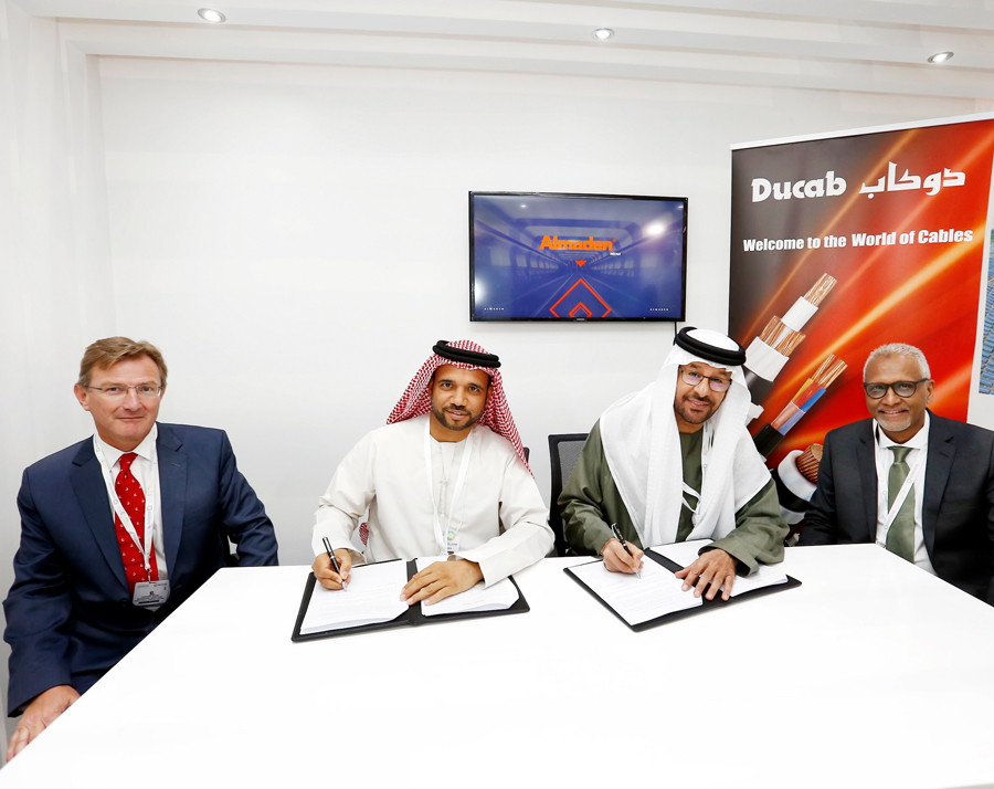 Ducab partners with UAE renewables pioneer, Almaden Emirates Fortune Power LLC
