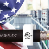New chainflex CF8821 data cable for e-chains, with guaranteed service life and UL approval