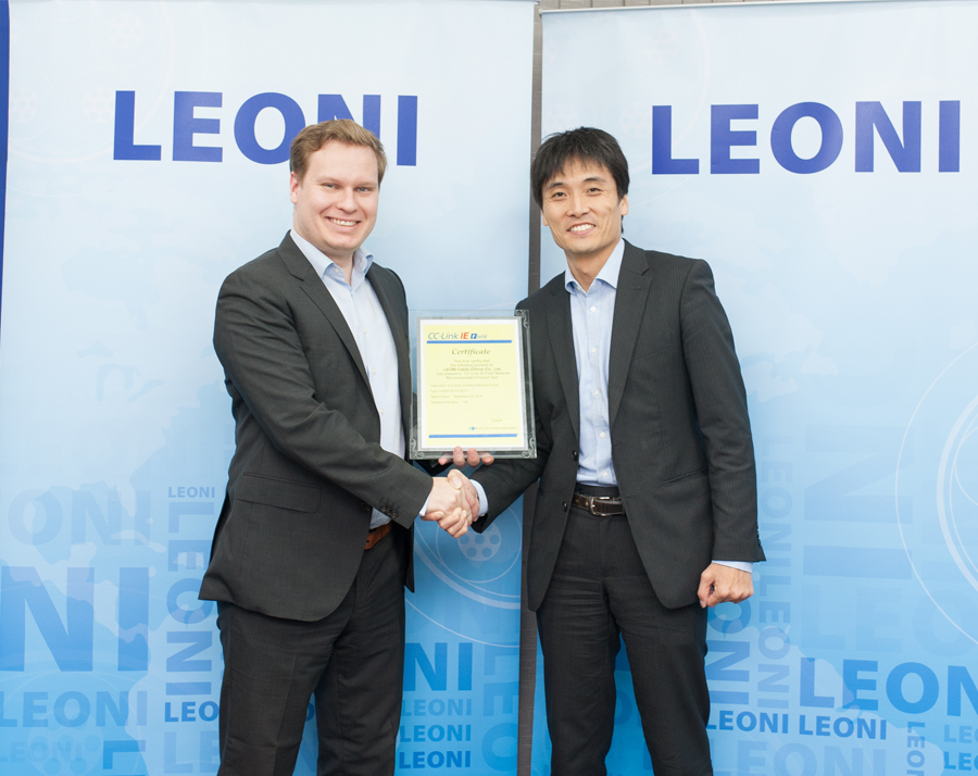 Leoni certifies cables to new CC-Link IE standard: Fast communication for Industry 4.0