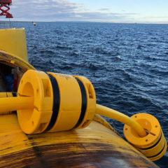 Trelleborg supplies cable protection to Scottish offshore wind farm