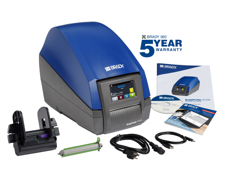 Heilind introduces BradyPrinter i5100 Industrial Label Printer