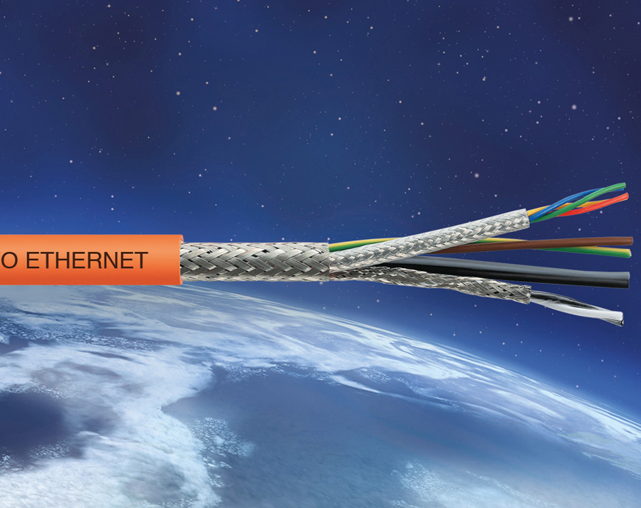 Ethernet hybrid cables for new SIEMENS® and BOSCH REXROTH® servomotor systems