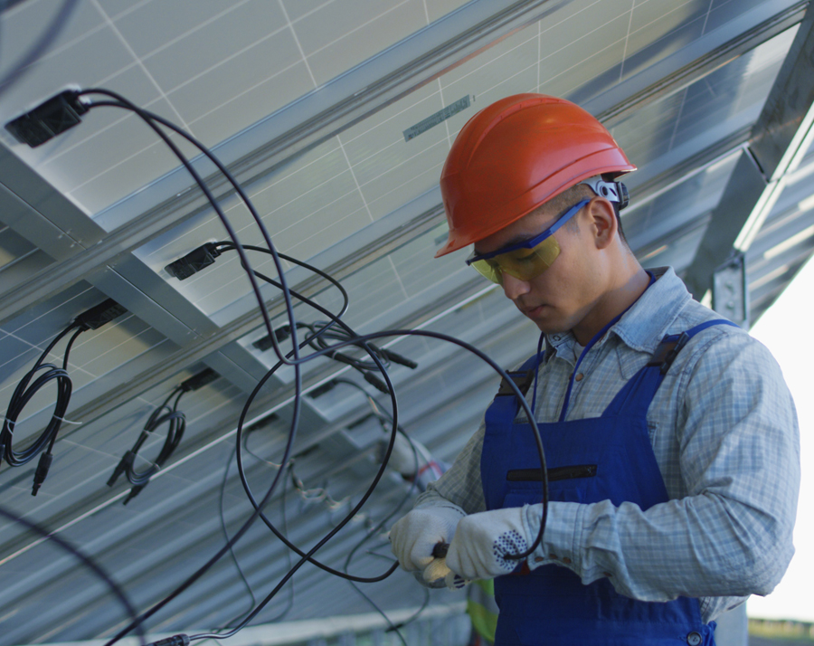 The global solar energy market, rapid growth, and  significant opportunity for cable manufacturers
