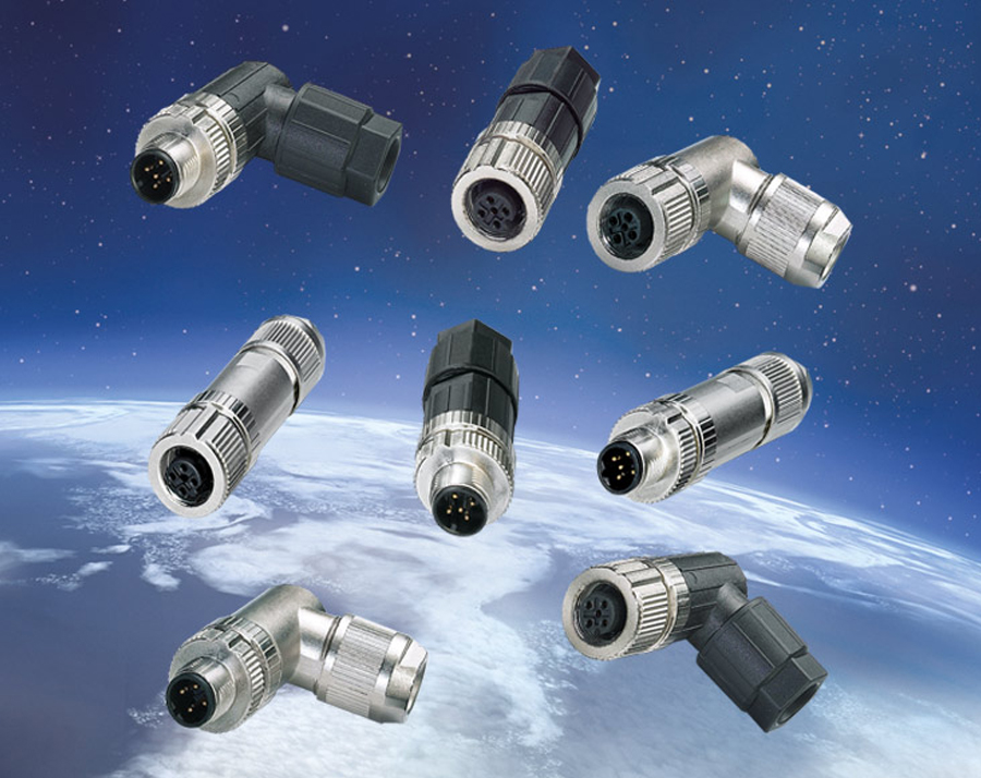 Push-In M12 connector with UL listing