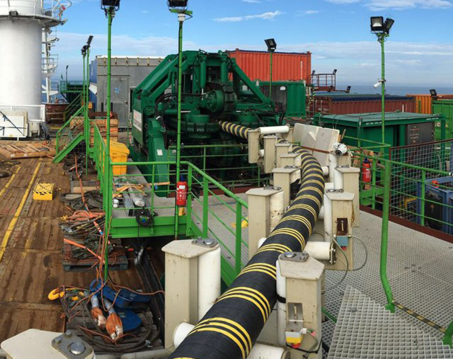 Sparrows Group provides cable handling solutions for world's largest offshore wind farm