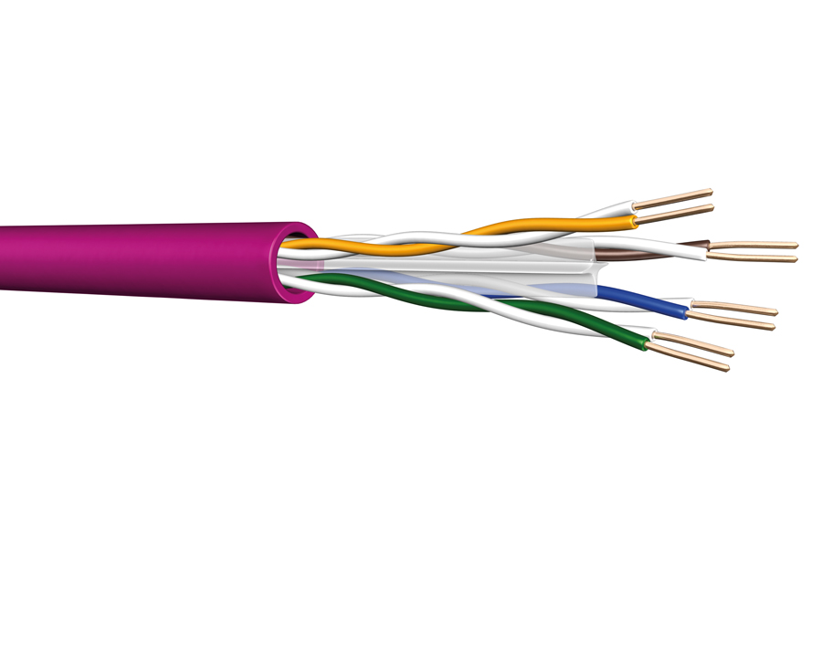 The real thing – Prysmian Group launches genuine CPR compliant Draka Cat.6 U/UTP Cca D64 cable
