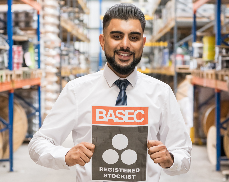 Cableworld Limited become BASEC Registered Stockist