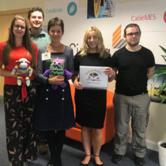 Book at Bedtime charity secures support from Cimteq