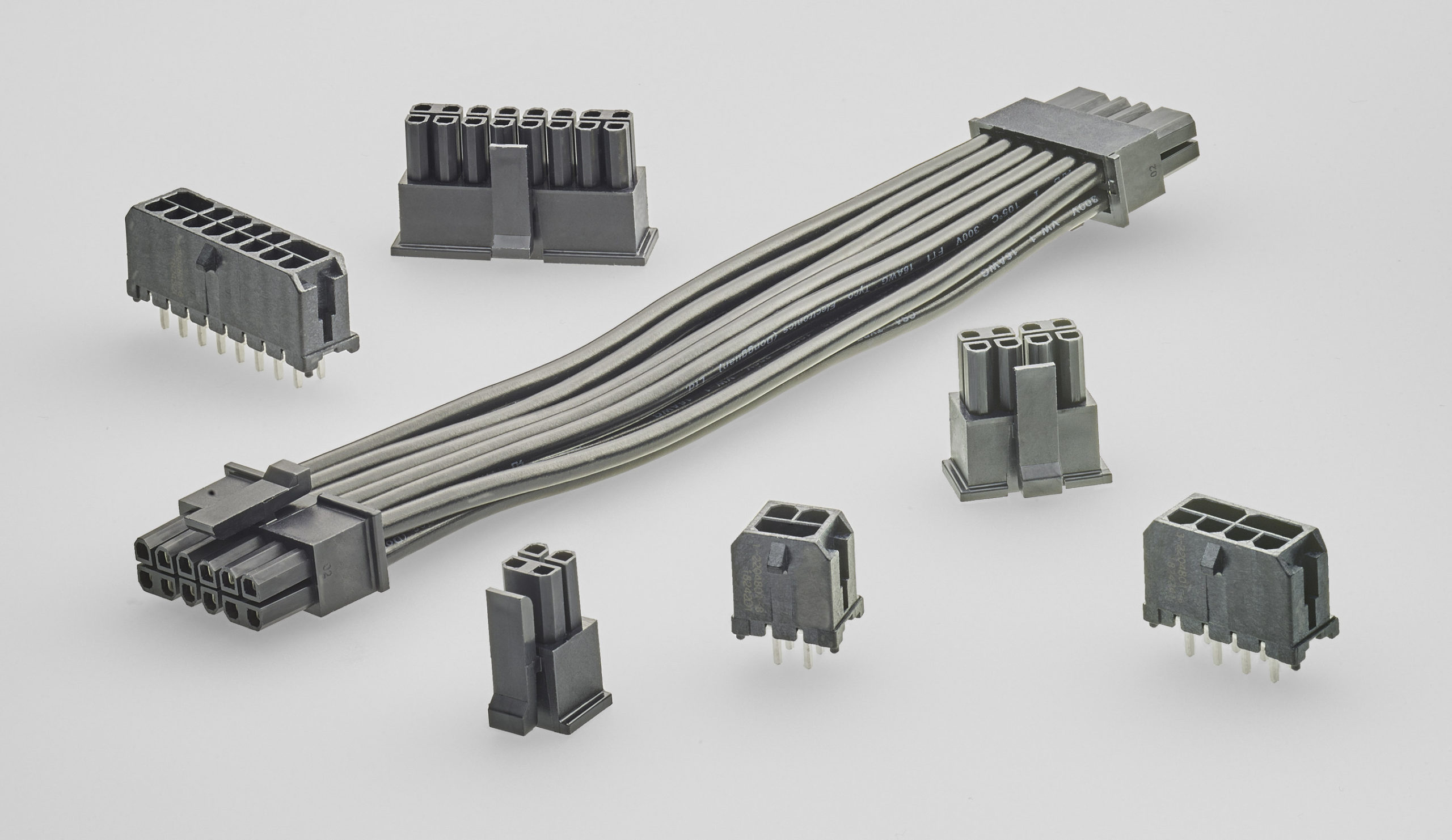 ELCON Micro wire-to-board power cable plugs and cable assemblies now available delivering up to 12.5A per pin in 3.0mm footprint