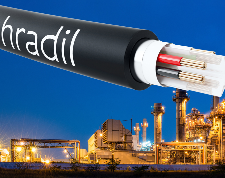 Hybrid cable for ethernet and power transmission
