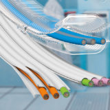 e-skin soft and e-skin flat ensure particle-free cable management in compact and flat installation spaces