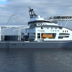 Prysmian moves forward with the construction of the new cable-laying vessel named Leonardo da Vinci