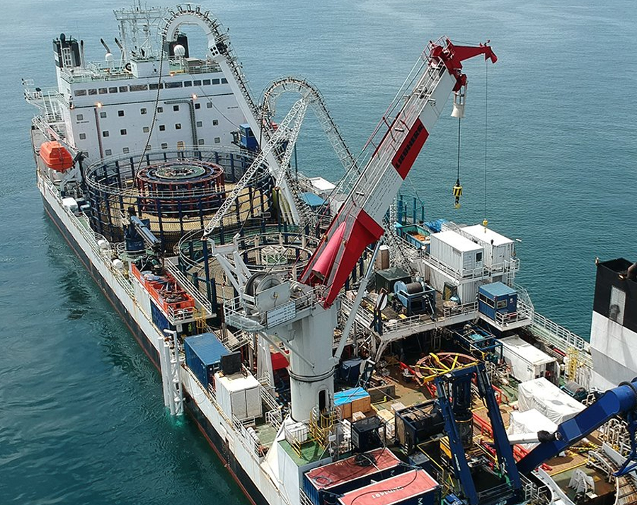 Prysmian successfully completes the DolWin3 offshore wind farm project in Germany