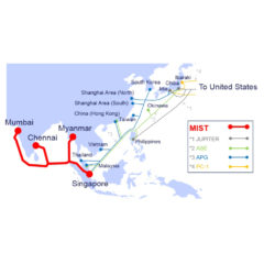 "NTT Ltd. to commence construction of optical submarine cable ""MIST"""