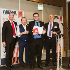 Cimteq's Alun Owens wins IWMA's Young Person Award 2020