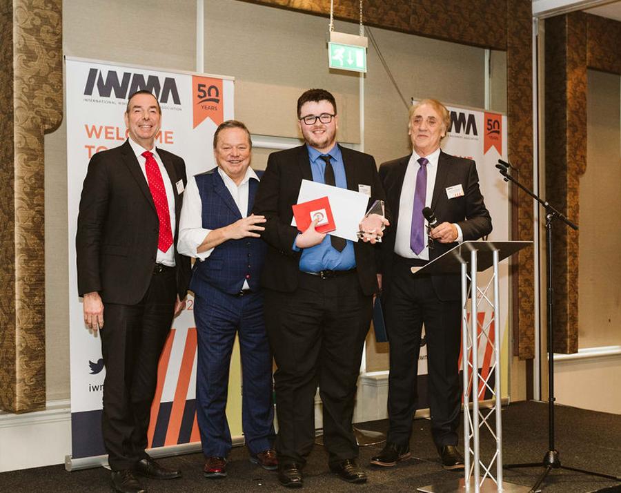 Cimteq's Alun Owens wins IWMA's Young Person Award 2020