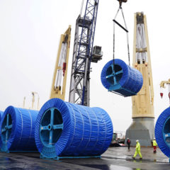First export of extra-high voltage cables to the Netherlands