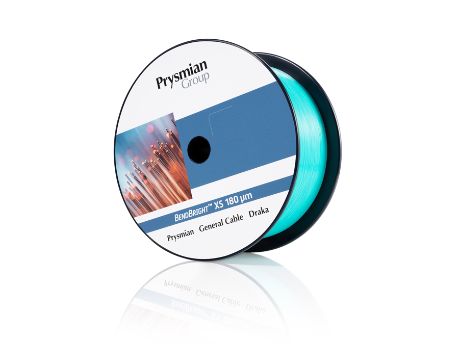 Prysmian Group announces world's first 180µm fibre cable for FTTx and 5G networks