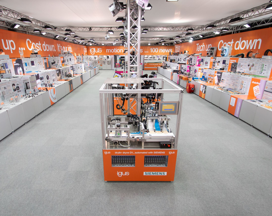 igus opens virtual trade show 2020 to introduce more than 100 motion plastics innovations