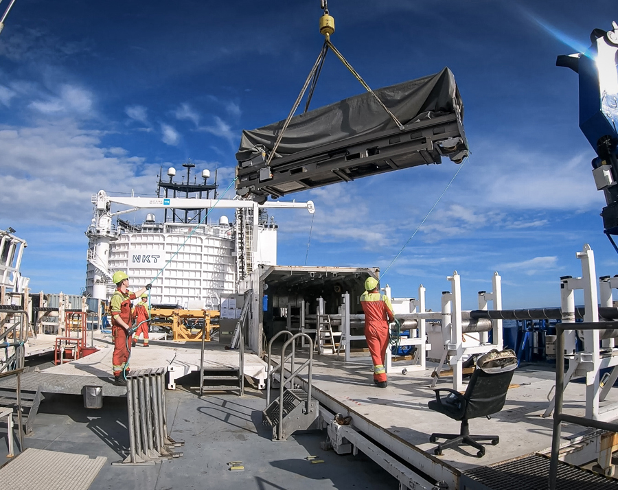 NKT completes repair of HVDC interconnector Baltic Cable in only 29 days