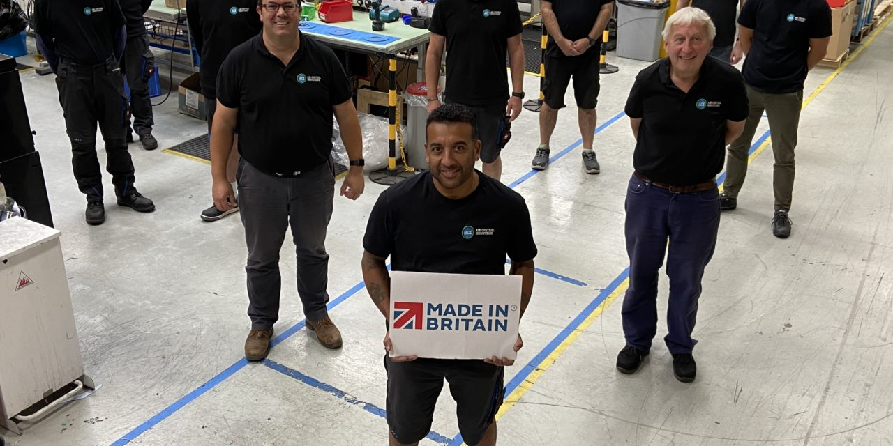 Cable drying specialist Air Control Industries flies the flag for Britain