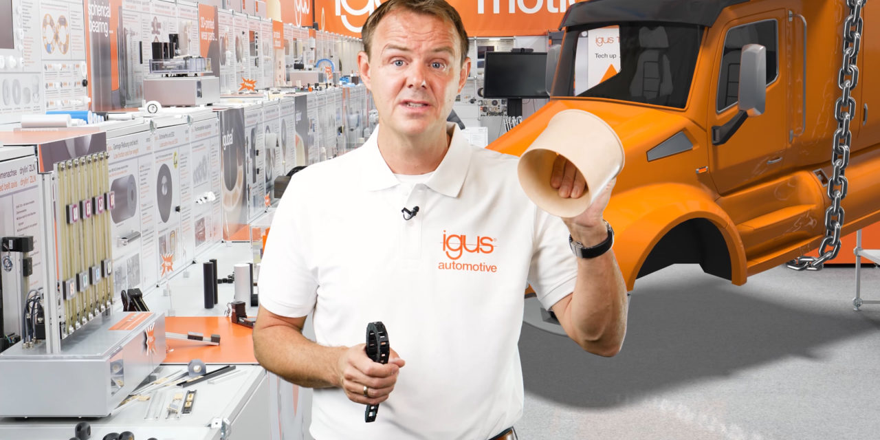 Keep on trucking! igus presents new vehicle products in a live automotive show