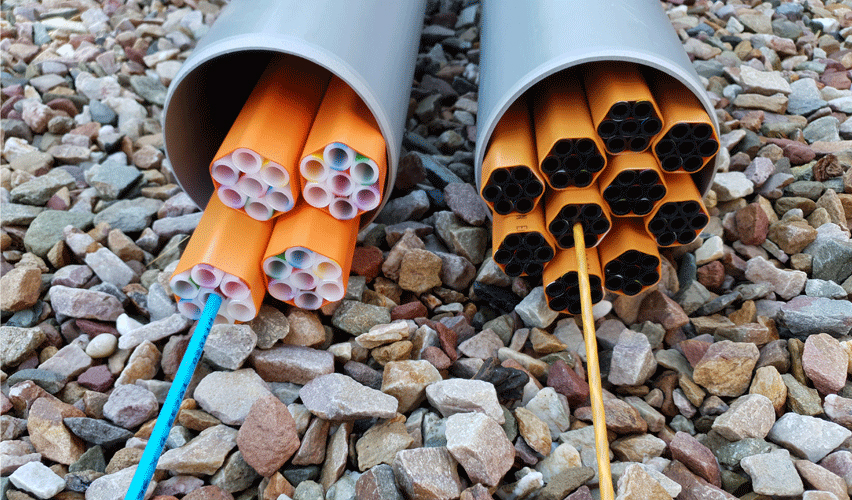 Prysmian launches first fibre-optic network with 90% recycled plastic and record reduced diameter