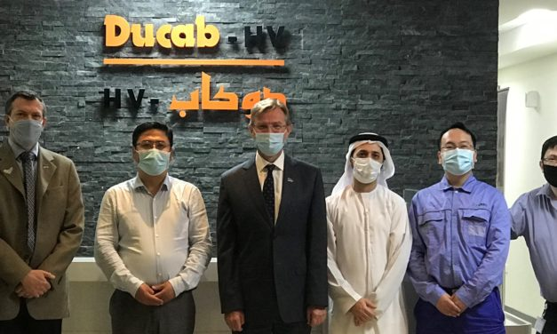 Ducab HV announces MBR Solar Park Phase 5 project win at WETEX 2020